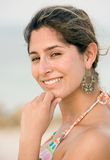 Beach woman portait Royalty Free Stock Photo