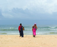 Beach women sellers. Goa Royalty Free Stock Image