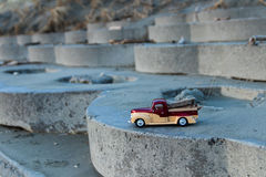 Beach Wood Truck Royalty Free Stock Photo