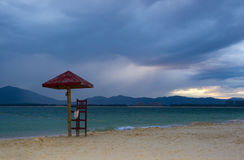 Beach of wuzhizhou island Royalty Free Stock Photo