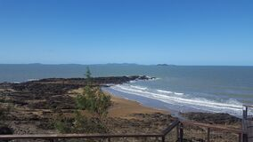 Beach - Yeppoon, Tropic of Capricorn, known as the Capricornia Coast, Qld, Australia