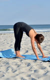 Beach Yoga Stock Photo
