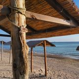 Beach Yuzhny Stock Photography