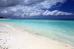 Beach in Zanzibar Royalty Free Stock Image