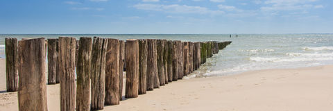 Beach, Zeeland Royalty Free Stock Photo