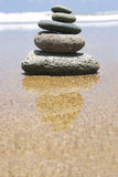 Beach Zen royalty free stock photo