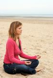 Beach zen Stock Images