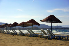 Beach2. Beach of cesme/turkiye Stock Photography