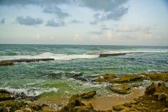 Beach2 em Sri Lanka Foto de Stock Royalty Free