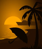 Beach4 Images libres de droits