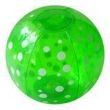 Beachball vert Photos libres de droits
