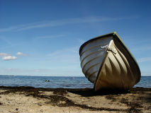 beachboat Photo stock