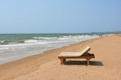 Beachchair Imagem de Stock Royalty Free