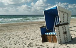 Beachchair Photo libre de droits