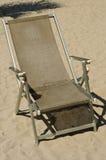 Beachchair on the sand Stock Photo