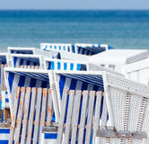 Beachchairs Stock Photos