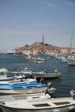 Beachcity van Kroatian Stock Foto's