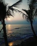 Beachclub Bali del club della spiaggia del mare Immagini Stock Libere da Diritti