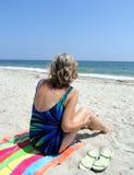 Beachcomber Royalty Free Stock Photos