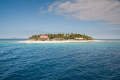 Beachcomber Island stock photography