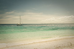 Beachcomber Island royalty free stock photography