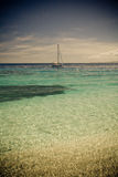 Beachcomber Island Royalty Free Stock Photos
