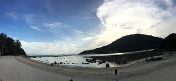 Beachday Стоковые Фотографии RF