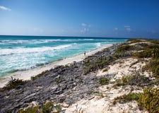 Beache on Cayo Largo's island, Cuba Royalty Free Stock Photos