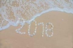 2018 beache Stock Photo