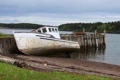Free Beached Maritime Fishing Boat Royalty Free Stock Photo - 19906065