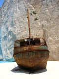 Beached in Zante Royalty-vrije Stock Afbeelding