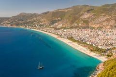 Beaches of Alanya Stock Image