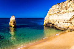 beaches in the Algarve Stock Photography