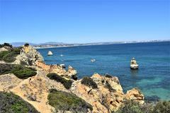 Beaches of Algarve, Portugal Stock Image