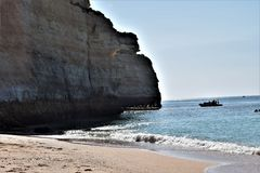 Beaches of Algarve, Portugal Royalty Free Stock Image