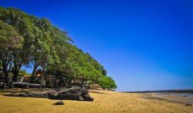 Beaches along the coast in El Salvador. Royalty Free Stock Photos
