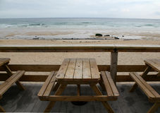 Beaches And Benches Royalty Free Stock Images