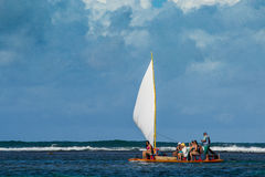 Beaches of Brazil - Maracaipe, Pernambuco. Maracaipe is a beach near Recife, the state capital of Pernambuco, in northeastern Brazil. It is located next to Porto Royalty Free Stock Photo