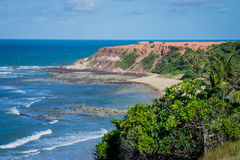 Beaches of Brazil - Pipa, Rio Grande do Norte Royalty Free Stock Image