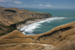 Beaches at Cape Kidnappers Royalty Free Stock Photo
