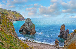 The beaches on Cape Roca Stock Photography
