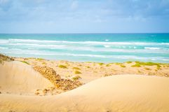 Beaches of Cape Verde, Africa Stock Image