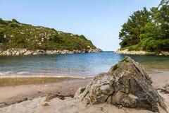 Beaches and cliffs Stock Photos