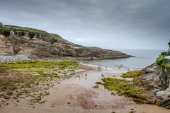 Beaches and cliffs Stock Photography