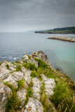 Beaches and cliffs Royalty Free Stock Photos