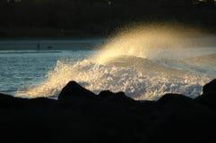beaches coast gold Στοκ Φωτογραφία
