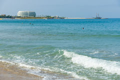 The beaches on the coastline Royalty Free Stock Photo