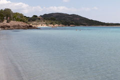 Beaches in Corsica Stock Photography