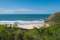 Beaches in florianopolis island, in South Brazil Stock Images