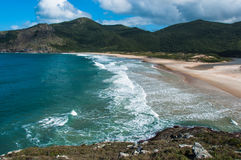 Beaches in florianopolis island, in South Brazil Stock Image